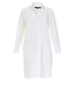 LEILA SHIRT DRESS #stylingmrsoliver.com Relaxed Outfit, Things To Buy, Stuff To Buy, Long Sleeve Tunic, Minimalist Fashion, Poplin, Shirt Dress, Chic, Cotton