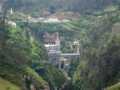 Las Lajas Sanctuary: The South American Church that Looks Like a European Castle ~ Kuriositas