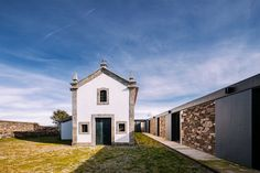 Completed in 2017 in Ponte de Lima, Portugal. Images by  NUDO . The project of Quartéis de Santa Justa is located at the highest point of Monte de Santa Justa, in Ponte de Lima (Portugal) and have, besides the...