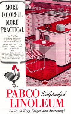 mid-centurylove: Love the little fold down desk! 1942