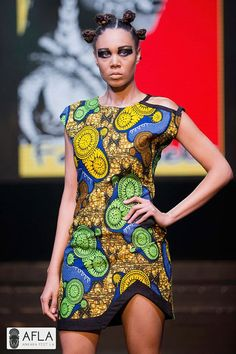 Gorgeous jolie African pencil dress by FANTABELA on Etsy
