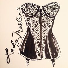 Vintage corsetry by Lady Marlene. In love. @fitnyc
