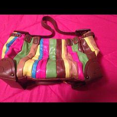 Selling this Jessica Simpson colorful bag in my Poshmark closet! My username is: xansgirl. #shopmycloset #poshmark #fashion #shopping #style #forsale #Jessica Simpson #Handbags