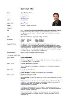curriculum vitae - Google Search | VITAE | Pinterest ...