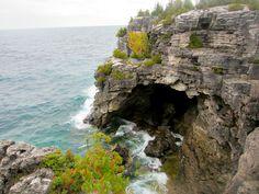 Bruce Peninsula National Park | Canada. The Grotto. #canada #travel