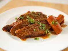 Get Braised Brisket and Vegetables Recipe from Food Network