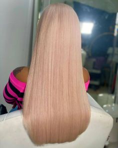 tadiorx Lace Front Wigs, Lace Wigs, Wig Hairstyles, Straight Hairstyles, Pink Hair, Blonde Hair, Hair Density, Hair Laid, Hairline