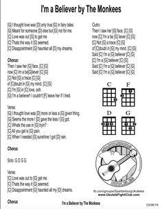 Guitar Tabs Songs, Uke Tabs, Music Chords, Lyrics And Chords, Ukulele Chords, Music Lyrics, Guitar Classes, Music Sheets, Music Ed