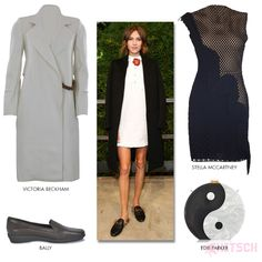 Alexa Chung's look at the Gucci Front Row tells us what classy outfits are made of.