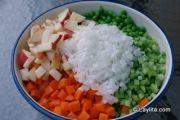 ensalada-Rusa-prep-4 / #ensaladaRusaprep4 Classic Potato Salad, Classic Salad, Ensalada Rusa Recipe, American Potato Salad, Barbacoa, Mayonnaise, Potato Recipes, Celery, Tapas