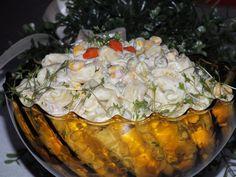 Sałatka wielkanocna z brokułem - Przepisy kulinarne - Sałatki Tortellini, Potato Salad, Potatoes, Cheese, Meat, Chicken, Ethnic Recipes, Pineapple, Potato