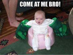 (baby humor funny hulk bro win)