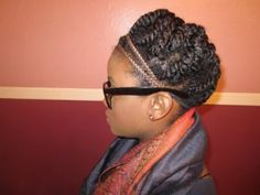 images of protective hairstyles for natural hair | This the the first style to my protective styling series that is ...