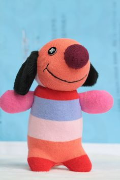 T33 Handmade  stuffed animal    toys  soft dolls  sock dolls  baby  Home Decor