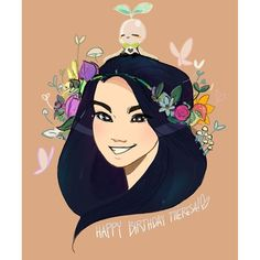thank you @boop1n !!! (my friends are so talented 2/2) by birduyen