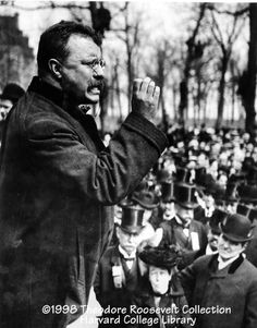 Teddy Roosevelt!