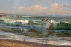 Surf Dodgers by Kathryn Stats - Greenhouse Gallery of Fine Art