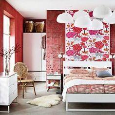 Decoración de dormitorio con la colección Trysil, de Ikea