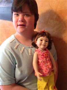 Inspired by daughter, mom creates dolls for kids with Down syndrome