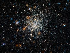 NGC 411, seen here, looks like a globular cluster, but appearances may deceive the viewer. Astronomers classify NGC 411 as an open cluster. Stars in open clusters drift apart over time, whereas globular clusters have remained intact over 10 billion years. NGC 411, a relative newcomer, has not been around even a tenth of this age.