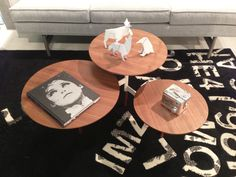 A fun little coffee table…