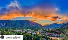 Glenwood Springs, Colorado | Originally inhabited by nomadic Ute Indian tribes, this area of bubbling hot springs has long been a destination for the health seeker. In the early 1880's, James Landis homesteaded the confluence of the Roaring Fork and Grand Rivers that would become Glenwood Springs. The addition of the Vapor Caves, Hotel Colorado and Fairy Caves provided a total package for travelers. The local economy was not only fueled by tourismbut also by coal mining, farming and…