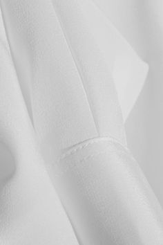 Saint Laurent|Silk crepe de chine shirt|NET-A-PORTER.COM