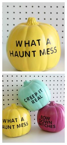 8 Easy No Carve Pumpkin Decorating Ideas You Can Totally Do