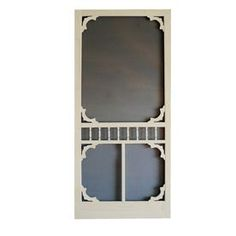 Screen Tight Colonial Lyndhurst Timber Wood Screen Door (Common: 80-in x 36-in; Actual: 80-in x 36-in)