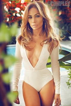 Jennifer Lopez Flaunts Cleavage for Complex, Asks, Am I Not Allowed to Be Sexy Because I'm a Mom? | E! Online Mobile