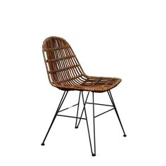 Rattan Chair With Large Backs Seen In The Sunday Times Rattan, Wicker, Vintage Metal, Scandinavian Style, Vintage Furniture, Dining, Chair, Home Decor, Sunday