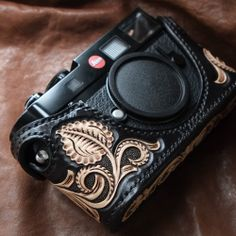 leather camera cover