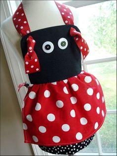 DIY Ladybug Apron
