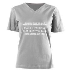 Castle Womens V-Neck Dark T-Shirt