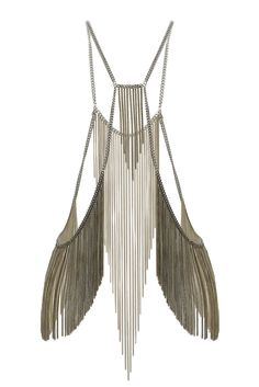 khalessi body jewellery from topshop. not quite sure how you wear this, but i'm letting my imagination run wild.