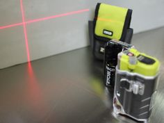 The Tek4 Line From Ryobi Has Some Very Cool Tools Including This Self Leveling Laser Level Ryobi Cool Tools Laser Levels