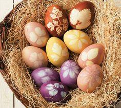 Eier färben: Tolle Ideen zum Nachmachen   BRIGITTE.de