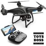 Holy Stone Gps Fpv Rc Drone Hs100 With Camera Live Video And Return Home Quadcopter Adjustable