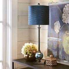 Orb Buffet Lamp - Dark Teal | Pier 1 Imports
