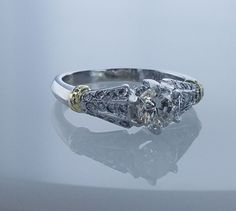 1.25ctw Carat GIA Certified Round Brilliant Solitair Diamond H Color