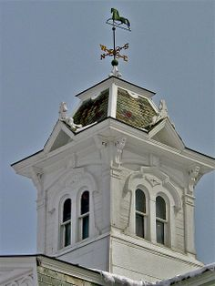 french cupolas | Breeding Barn & Stable (1878) – cupola & weathervane detail | Flickr ...