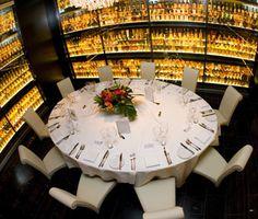 Dining Table At Amber Restaurant Edinburgh