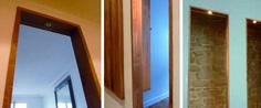 bois et pierre Mirror, Architecture, Furniture, Home Decor, Parisian Apartment, Stone, Woodwind Instrument, Arquitetura, Interior Design