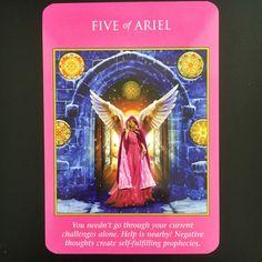 archangel power tarot card two of ariel - Google Search