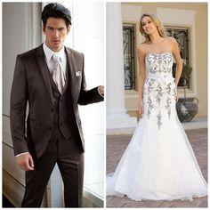 Bruid en bruidegom en de perfecte match | In White