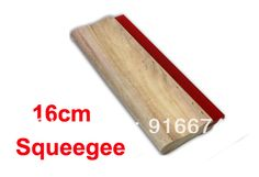 Discount Silk Screen Printing Squeegee 16cm (6.3inch) Ink Scaper Tools Materials #Affiliate