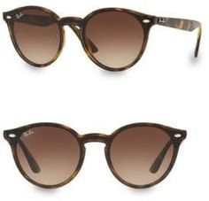a16946e9d85 Ray-Ban 37MM Gradient Light Havana Round Sunglasses Round Sunglasses