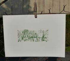 lino print - lathelize
