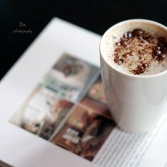 Tempting cup of bubbly coffee. #coffee