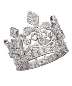 Crystal Crown Ring - Max&Chloe